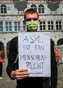 Bild Asyl ist ein Menschenrecht